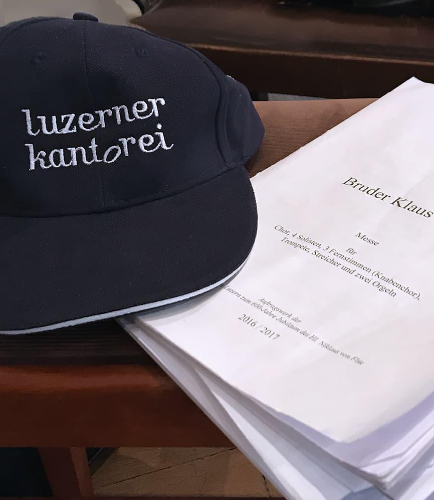 Über die Luzerner Kantorei