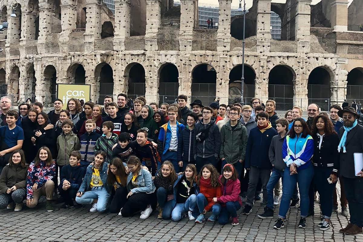 Konzertreise Rom - Ausflug Kinderchor Luzerner Kantorei