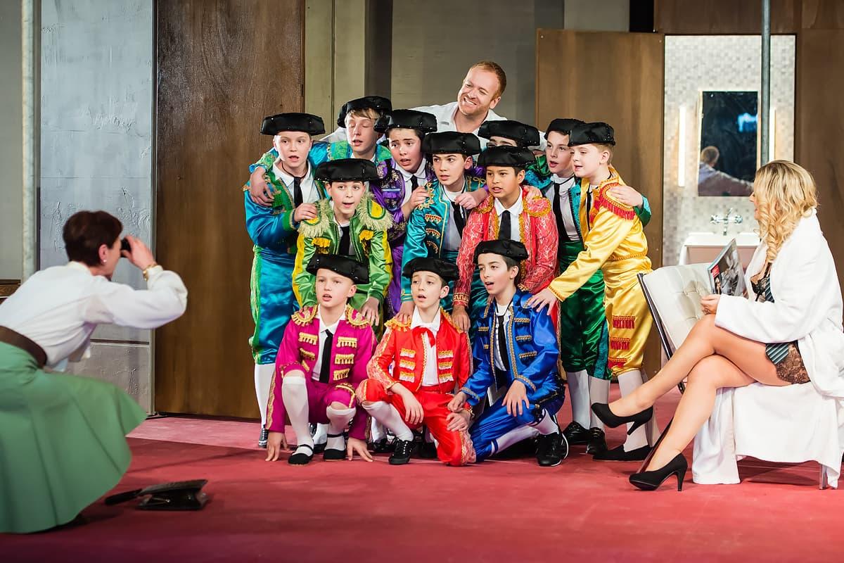 Opernaufführung Carmen 14 - Kinderchor Luzerner Kantorei