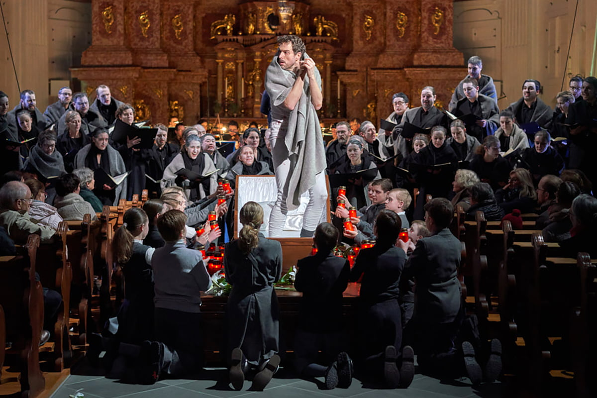Aufführung Faustszenen - Kinderchor Luzerner Kantorei