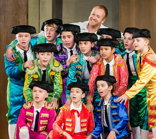 Opernaufführung Carmen - Kinderchor Luzerner Kantorei