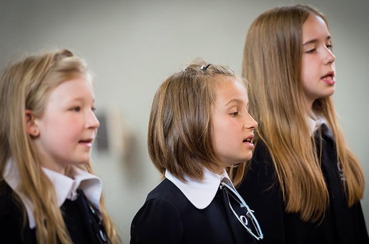 Probezeit Konzertchor Mädchen in Luzern