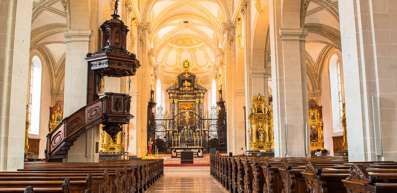 Konzertchor in der Hofkirche