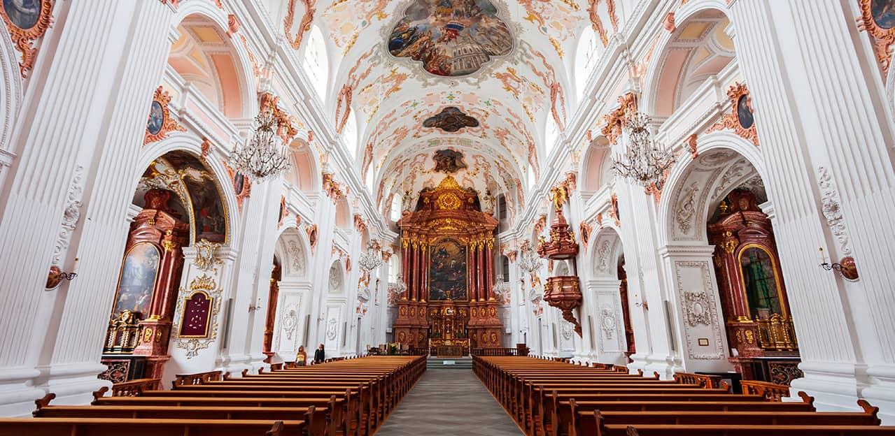 Konzertchor in der Jesuitenkirche