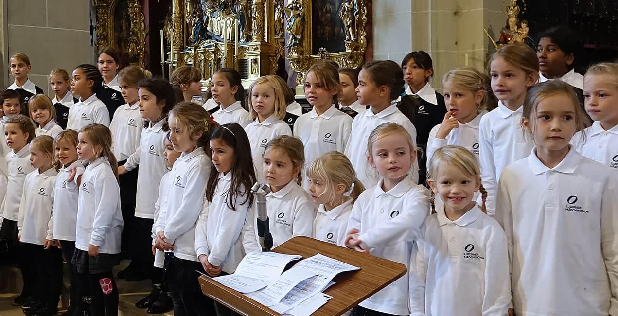Kinderchor Mädchen in Luzern