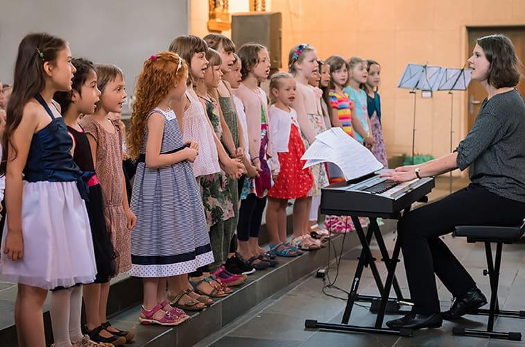 Probezeit Kinderchor Mädchen in Luzern